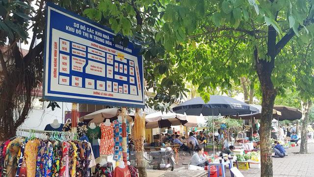 Cận cảnh ô đất vàng dịch vụ cuối cùng đô thị mẫu Hà Nội bỏ hoang 20 năm - Ảnh 9.