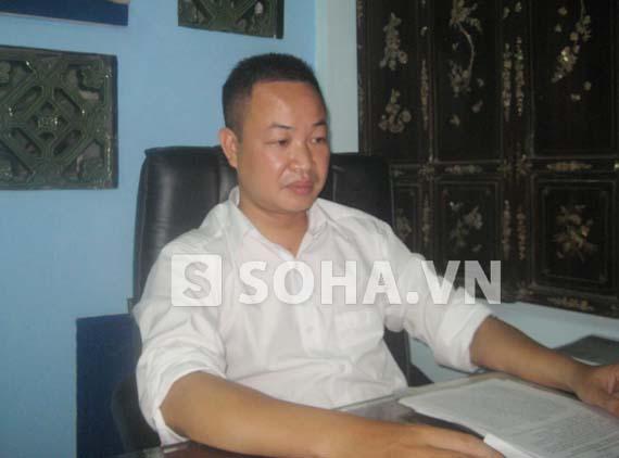 Luật sư Nguyễn Anh Thơm - Trưởng văn phòng luật sư Nguyễn Anh (Đoàn luật sư TP. Hà Nội) - (Ảnh: thutrang)