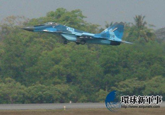 Chiến đấu cơ Mig-29 của quân đội Myanma