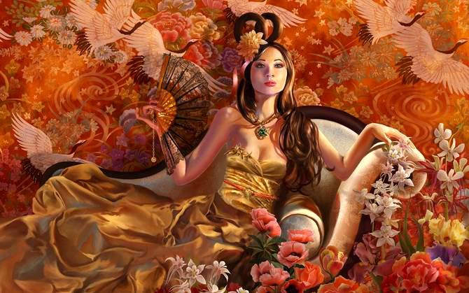 Võ Tắc Thiên- nữ hoàng trụy lạc và tàn bạo. Ảnh minh họa