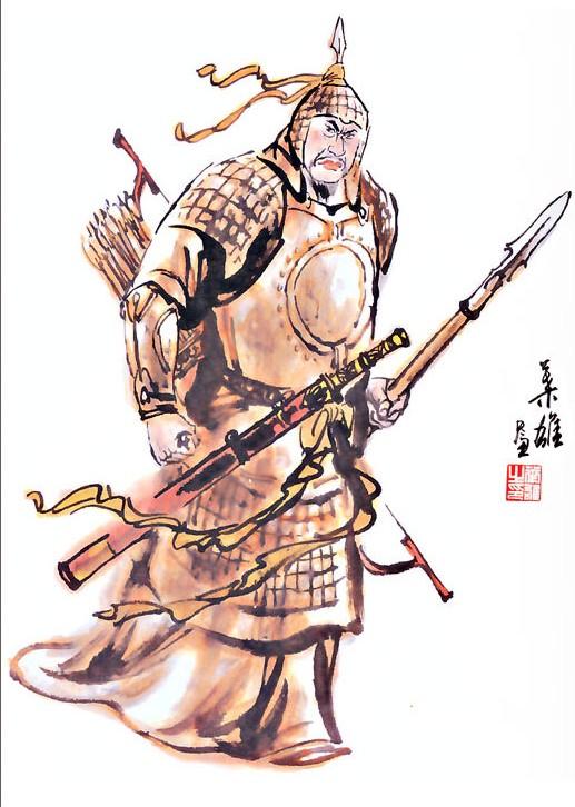 Mãnh hổ Giang Đông Tôn Kiên mới chính là tác giả của chiến công mà Quan Vũ hưởng.