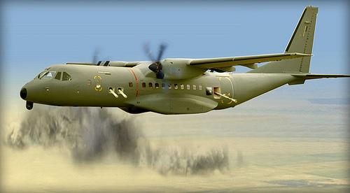 Máy bay C-295 Gunship.