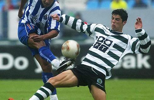 Ronaldo ngày còn ở Sporting
