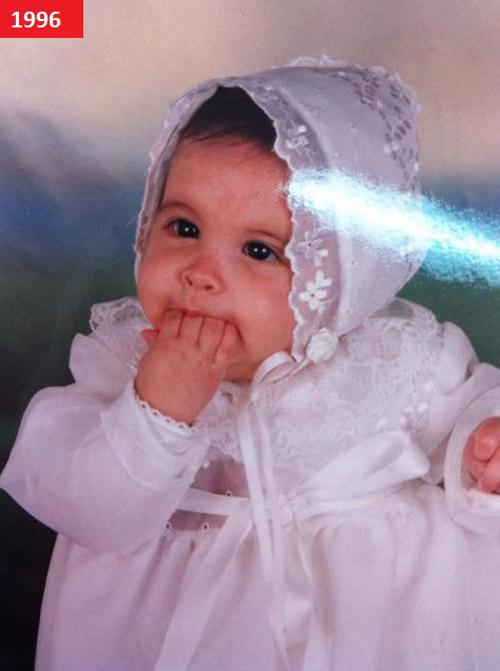 Mới sinh ra, Andrea đã trở thành vip trong làng fan túc cầu!