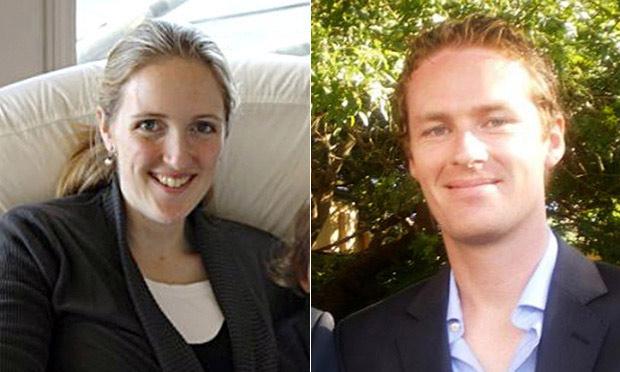 Katrina Dawson và Tori Johnson, 2 con tin thiệt mạng trong vụ bắt cóc.