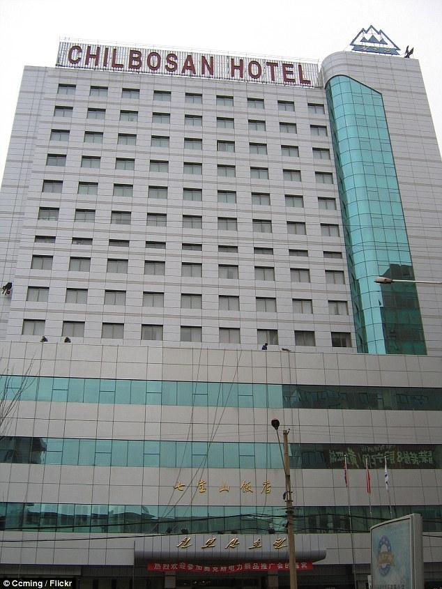 """Khách sạn Chibolsan tại Trung Quốc được đồn"""" nơi các hacker thuộc Đơn vị 121 """"đóng đô""""."""