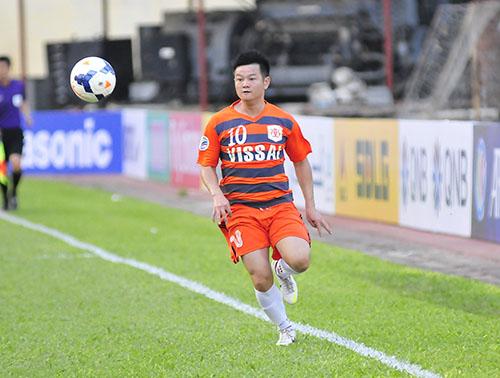 Ninh Bình muốn Văn Quyến tiếp tục thi đấu ở AFC. Ảnh: SN