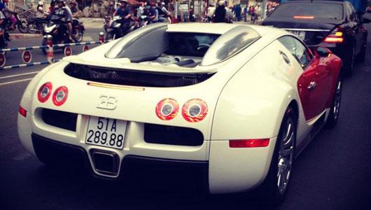 Bugatti Veyron, siêu xe, Việt Nam