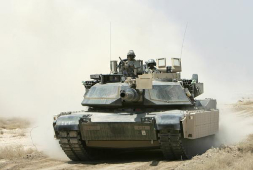 """""""Vua chiến trường"""" M1 Abrams"""