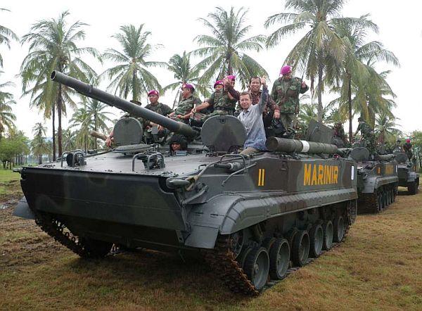 BMP-3F trong biên chế lính thủy đánh bộ Indonesia.
