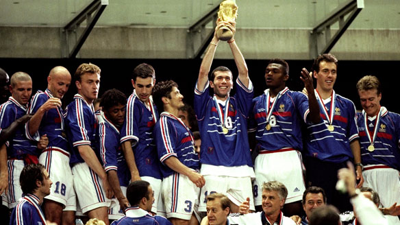 Zidane và Pháp đăng quang ở World Cup 1998
