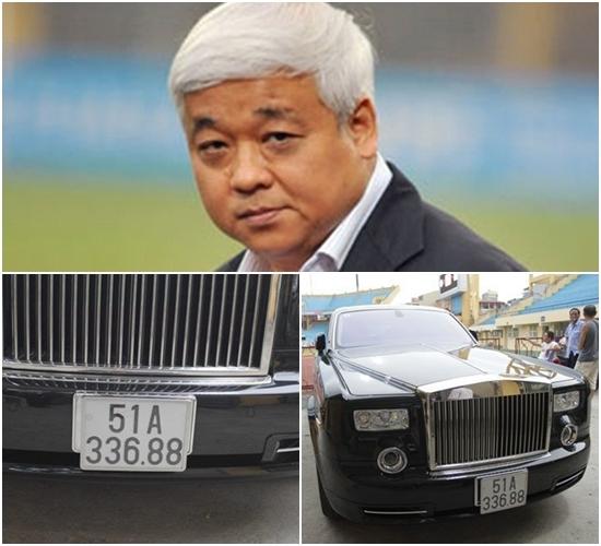 Bầu Kiên sở hữu 1 trong 33 chiếc Rolls-Royce Phantom Rồng trên thế giới.
