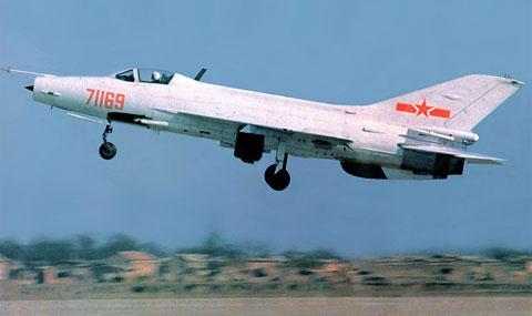 Tiêm kích J-7 của Trung Quốc