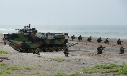 Quân đội Mỹ - Philippines tham gia cuộc tập trận tấn công đổ bộ tại bãi cạnScarborough.