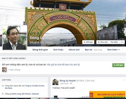 Ông Dũng lò vôi nóng mặt khi có kẻ mạo danh lập Facebook - Ảnh 1