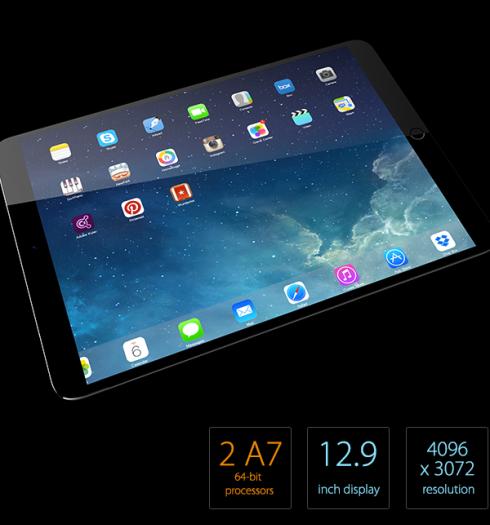 Rò rỉ nguyên mẫu iPad Pro với màn hình 12.9 inch 2K 'siêu nét'