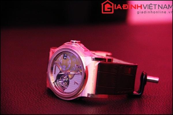 Mẫu đồng hồ có tên Verdict Tourbillon Rose Gold chỉ có duy nhất 8 chiếc trên thế giới