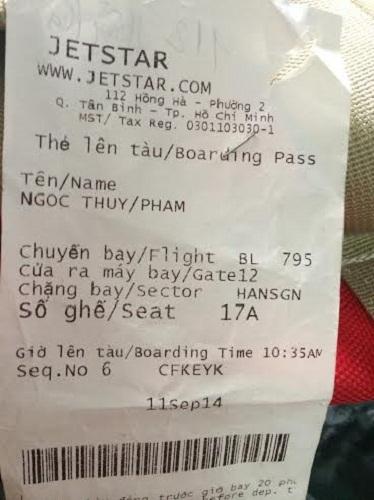 Nhân viên Jetstar Pacific ghi khống số cân của khách? - Ảnh 1
