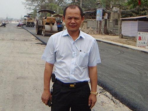 Nguyễn Ngọc Minh, tức Minh Sâm, khi chưa bị bắt giữ