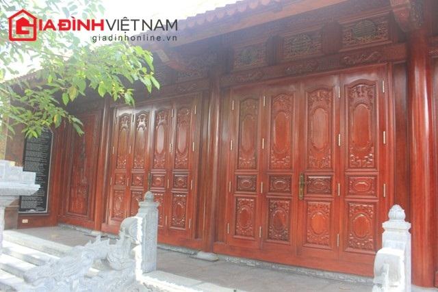 Ngôi nhà đinh hương độc đáo bậc nhất này ở xóm 3, xã Hưng Xá, huyện Hưng Nguyên, Nghệ An.