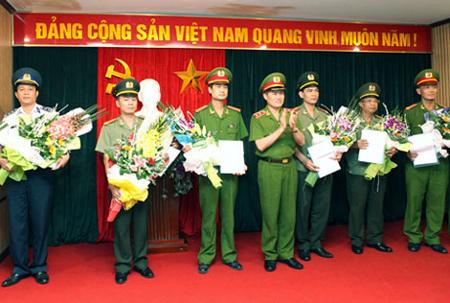 Lễ khen thưởng các đơn vị tham gia phá vụ án Nguyễn Ngọc Minh (Minh sâm).