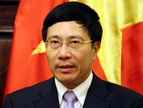 Phó Thủ tướng, Bộ trưởng Ngoại giao Phạm Bình Minh. Ảnh: Phan Lê.