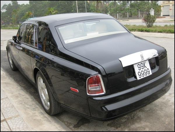 Chiếc Rolls-Royce Phantom Rồng biển khủng được cho là của trùm xã hội đen Minh Sâm