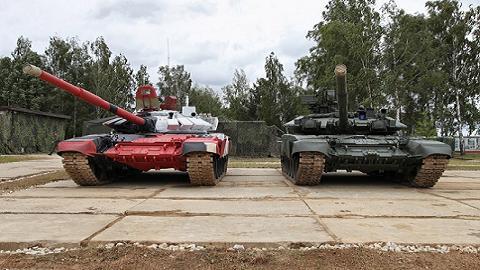 Tăng T-90 được đánh giá có sức mạnh vượt trội tăng T-72B3M