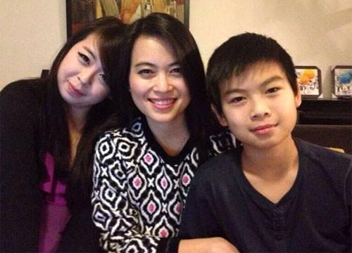 Chị Nguyễn Ngọc Minh và 2 con (Đặng Minh Châu, Đặng Quốc Duy) là những người Việt Nam có mặt trên chuyến bay MH17.