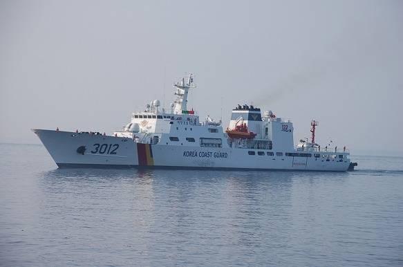 Tàu tuần tra lớp Taepyungyang số hiệu 3012, gia nhập biên chế năm 2012