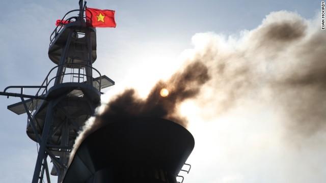 Một lần tuần tra của các tàu Cảnh Sát Biển Việt Nam kéo dài vài tuần trên vùng biển xảy ra căng thẳng.