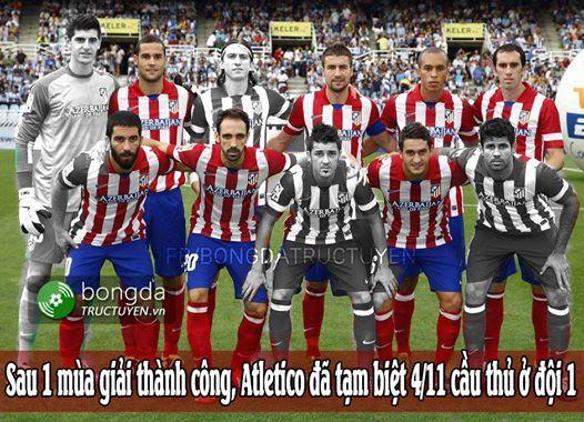 Sẽ còn thêm những người nữa ra đi, tội nghiệp Atletico