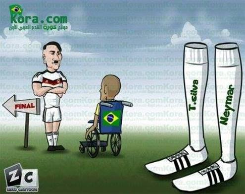 Brazil lấy gì để đấu với Đức đây?