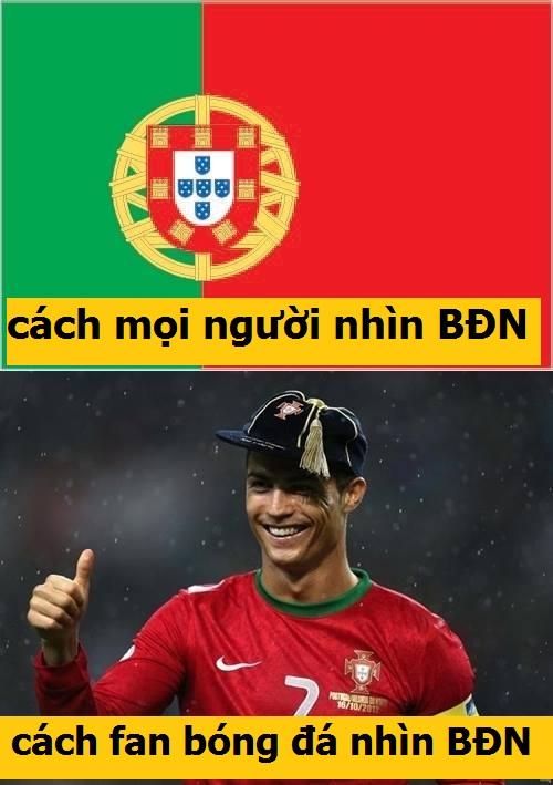 Với fan bóng đá, BĐN = Ronaldo