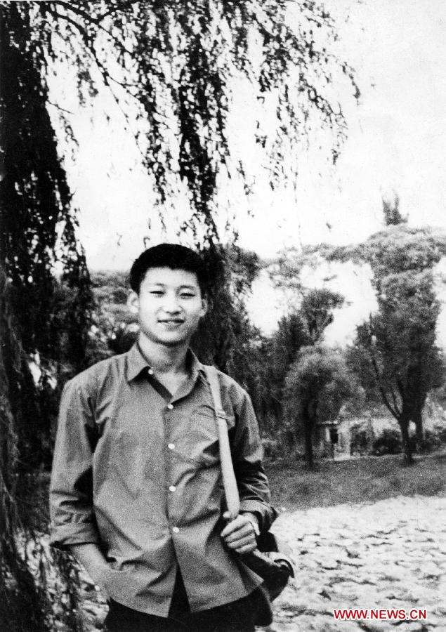 23/12/1972, ông Tập Cận Bình về Bắc Kinh thăm người thân, lúc này ông vẫn trong thời kỳ về công tác tại nông thôn. Ảnh: Xinhua