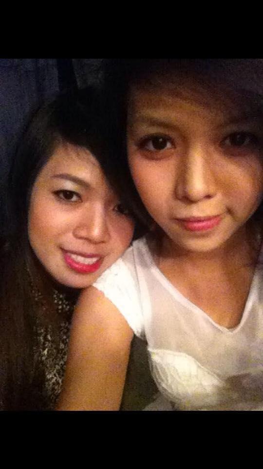 Minh Yến và em gái