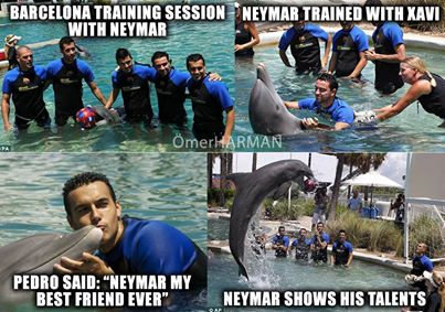 Tân binh Neymar của Barca