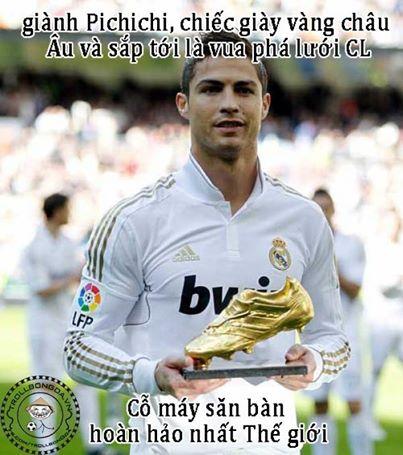 Sự bá đạo của Cris Ronaldo vẫn còn!