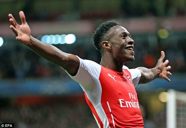 Welbeck hòa nhập rất nhanh trong màu áo Arsenal
