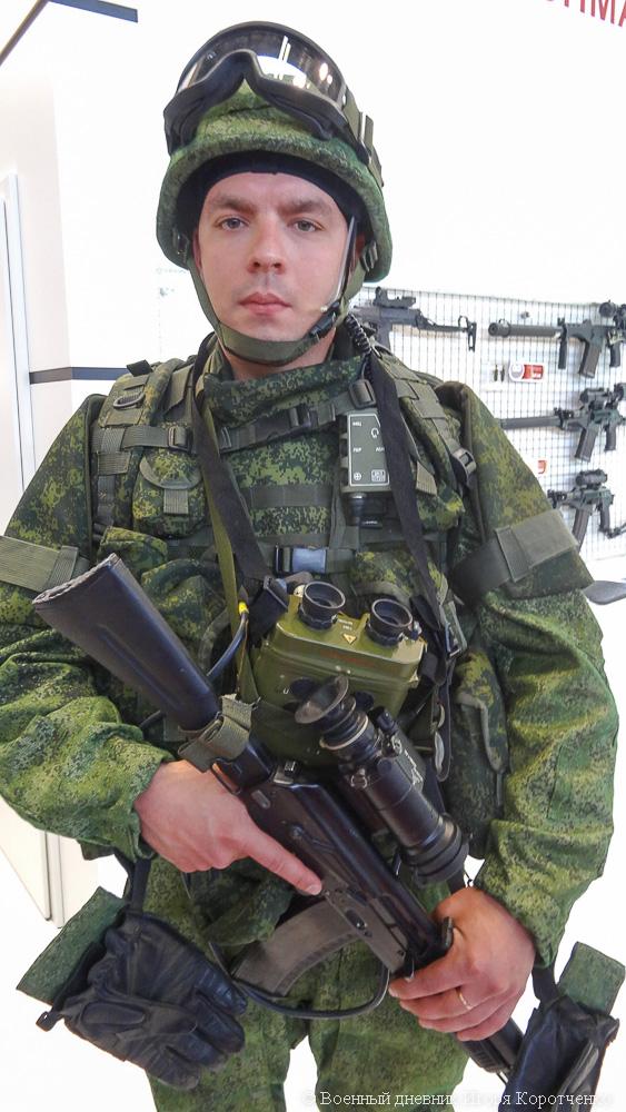 Bộ trang bị Ratnik cho chiến binh tương lai của Nga.
