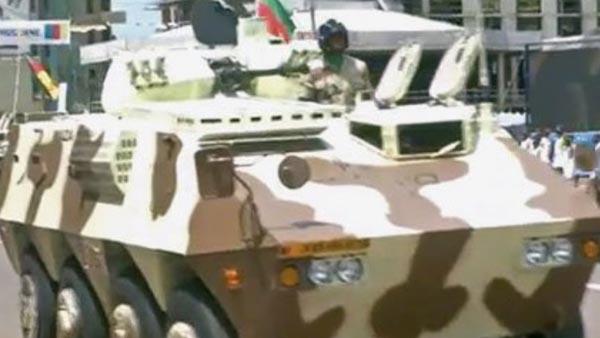 Xe chiến đấu bộ binh Type-07P do Trung Quốc sản xuất lần đầu được giới thiệu trong lực lượng vũ trang Cameroon.