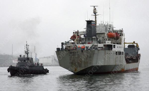 Chiếc thứ 3 trong đội tàu là tàu chở dầu Irkut được đóng tại Phần Lan năm 1975