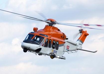 Trực thăng AW139 của cảnh sát biển Hàn Quốc
