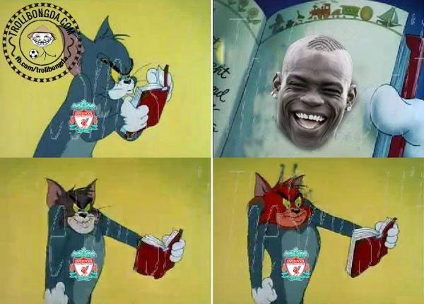 Fan Liverpool mỗi khi thấy Balotelli