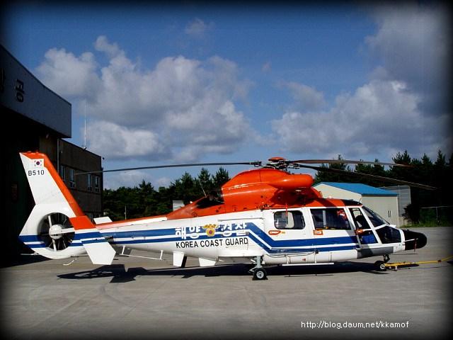 Trực thăng AS565 của cảnh sát biển Hàn Quốc