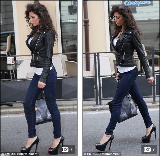 Cô người mẫu Italia vẫn rất xinh đẹp sau gần 2 năm chia tay Bad Boy