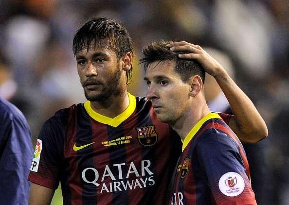 Neymar có mối quan hệ tốt với Messi