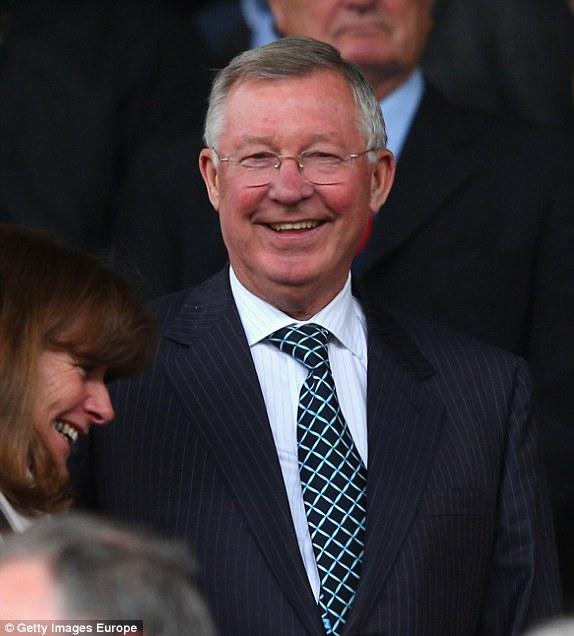 Sir Alex cười rất tươi khi Man United chiến thắng