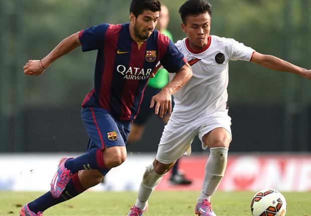Messi muốn đá bên Suarez
