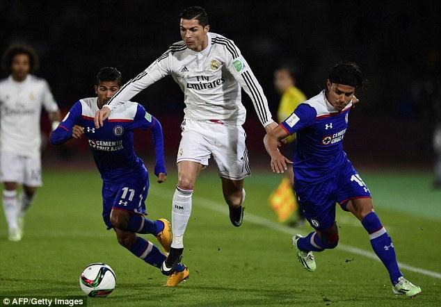 Ronaldo trong màu áo Real